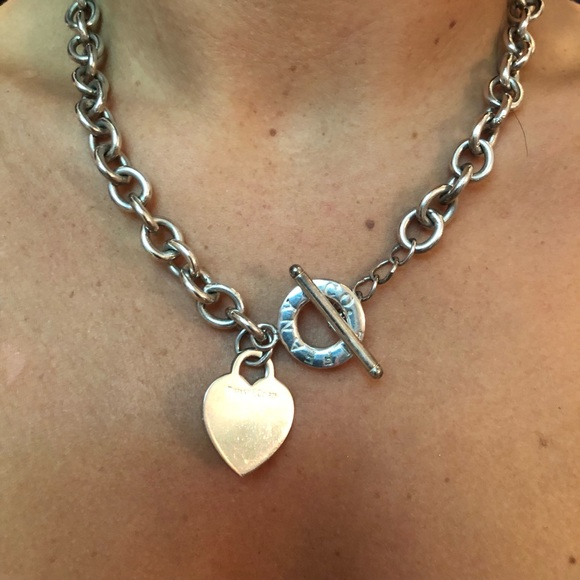 Tiffany Co Jewelry Tiffanys Sterling Silver Chain Link Necklace Poshmark